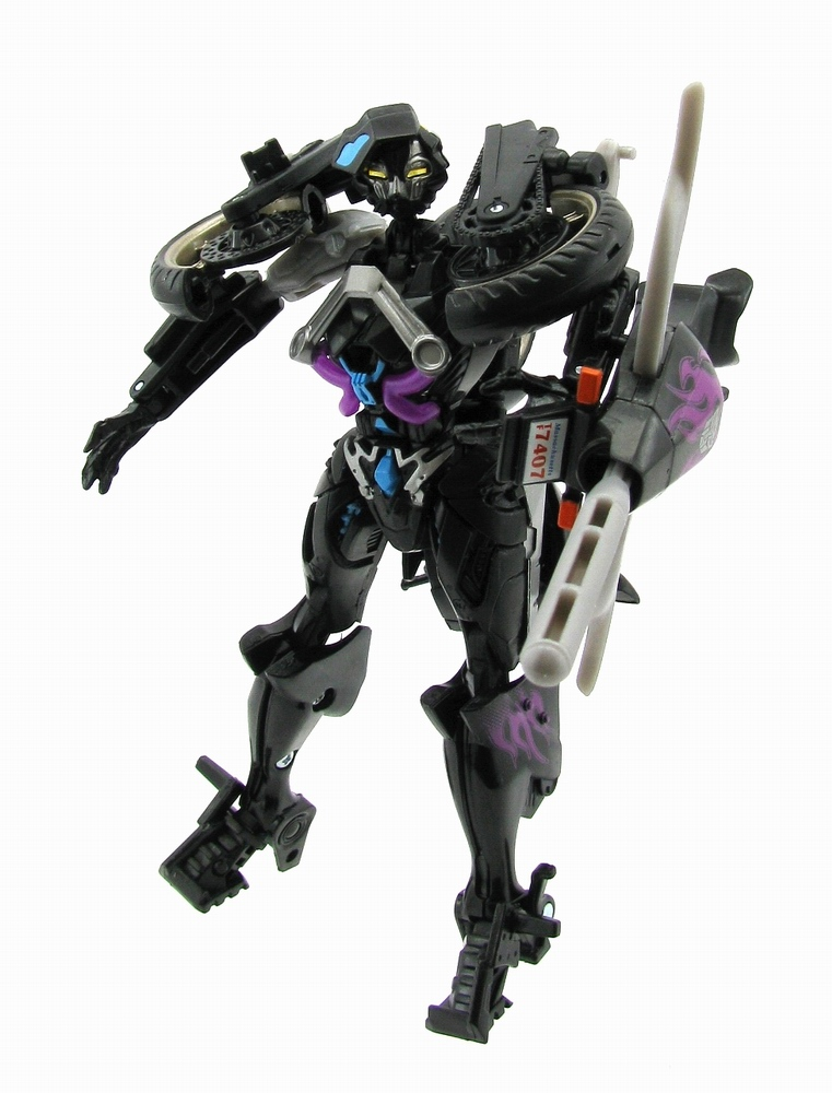 Action Figure with Tracking MA-20 Black Arcee Japanese Ver Transformers
