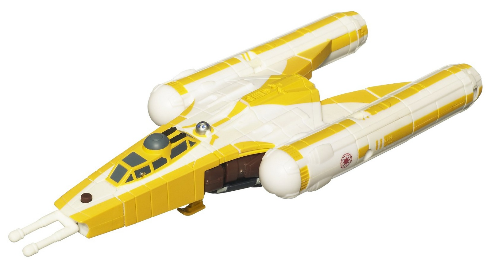 "ANAKIN SKYWALKER to Y-WING BOMBER Star Wars Transformers Crossovers 7/"" 2010"