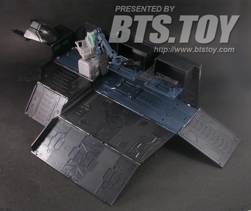 Transformers BTS-01B Nemesis command Center with Attack