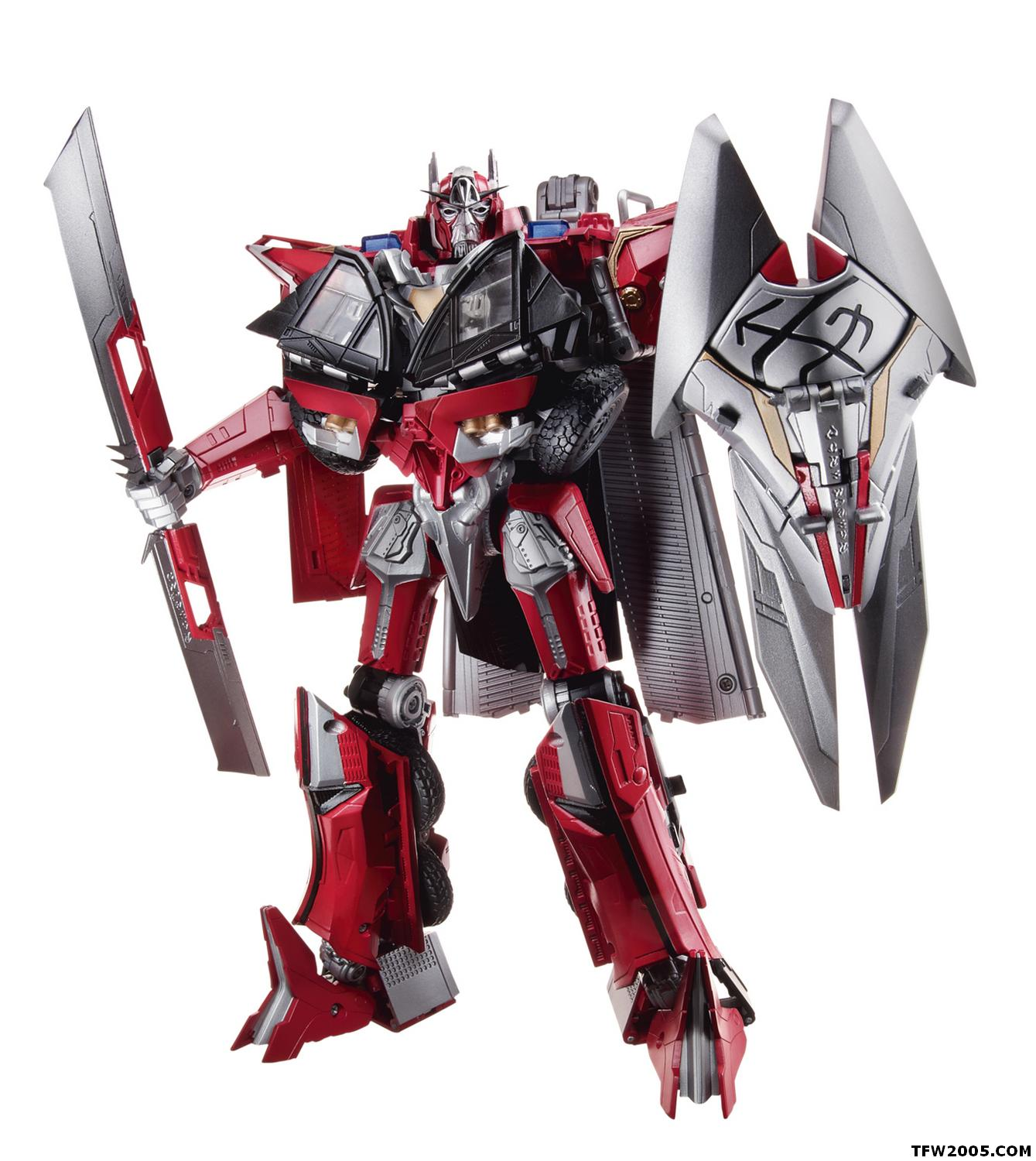 sentinel prime (leader) - transformers toys - tfw2005